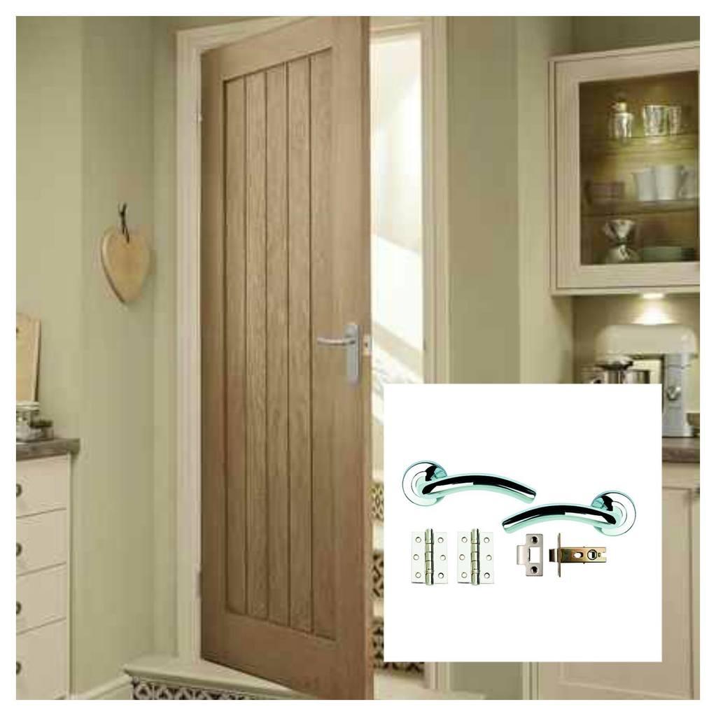 4 x Genoa Oak Doors & Oak Veneer Door Deals